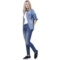 Blue Fire Co Nancy Slim FIT Jeans MID Rise Seasonal Basic - Damen Bekleidung