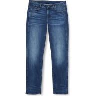 G-STAR RAW Damen 3301 Desconstructed Mid Waist Straight Jeans Bekleidung