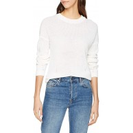 Noisy may Damen Nmsian L S O-Neck Knit Noos Pullover Bekleidung