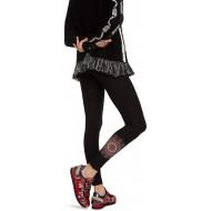 Desigual Damen Hosiery Alexandra Leggings Schwarz Negro 2000 WHerstellergröße L Bekleidung