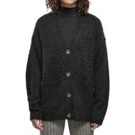 Urban Classics Damen Ladies Feather Cardigan Sweater Bekleidung