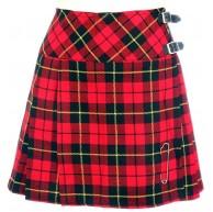 Neu Damen Wallace Schottenmuster Rot Mini Billie Schottenrock Mod Rock Größen 6-22UK Bekleidung