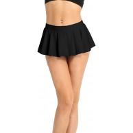 Nimiya Damen Schule Rock Super Kurze Faltenrock Dehnbar Solid Plisseerock Low Rise Halbrock Eiskunstlauf Tennis Schulmädchen Kostüm Sexy Outfit Bekleidung