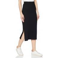 PIECES Damen Pckylie Mw Midi Skirt Noos Rock Bekleidung