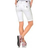 KangaROOS Damen Jeansshorts Jeanshose kurz Jeans Shorts Bekleidung