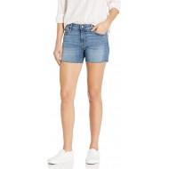 -Marke Goodthreads Damen Denim Raw Edge Short Bekleidung