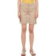 s.Oliver Damen Regular Fit Bermuda aus Baumwollstretch brown stretched d 44 Bekleidung
