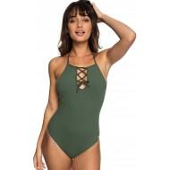 Roxy Badeanzug Goldy Sandy Swimsuit Bekleidung