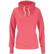 Bench Damen Strandsweatshirt Sweatshirt Koralle meliert 32 34 XS Bekleidung