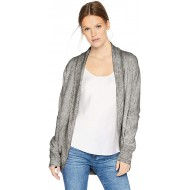 Daily Ritual Terry Cotton and Modal Cocoon novelty-athletic-sweatshirts Heather Grey Space Dye US S EU S - M Bekleidung