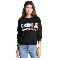 Moschino Underwear A1710 9004 Sweatshirt für Damen Schwarz XL Bekleidung
