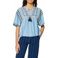 Pepe Jeans Damen Denim Bluse Bekleidung