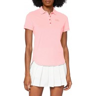 Odlo Damen Polo Shirt S S Trim Polo Shirt Bekleidung