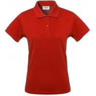 Rossini Trading HH15607HXL Damen-Poloshirt Take Time Rot XL Bekleidung