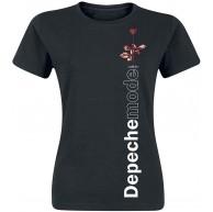 Depeche Mode Violator Side Rose T-Shirt schwarz M Bekleidung