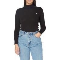 G-STAR RAW Damen Xinva Slim Turtle Neck T-Shirt Bekleidung