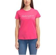 MUSTANG Damen Relaxed Fit Fancy T-Shirt Bekleidung