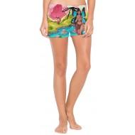 DXG1 Fairy Fantasy Damen Boardshorts Bademode Quick Dry mit verstellbarem Kordelzug S M L Bekleidung