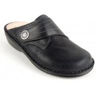 Finn Comfort Damen Clog Pantolette Bermuda - S schwarz 82580 Weichbettung 37 schwarz Schuhe & Handtaschen