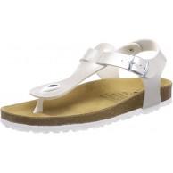 Lico BIOLINE LOOK Niedrige Hausschuhe Mädchen Silber 33 EU Schuhe & Handtaschen
