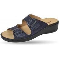 Weeger Orthopädische-Pantolette mit auswechselbarem Fußbett Schuhe & Handtaschen