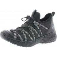 Rieker Damen SlipperMokassins N62Z8 Frauen Slipper Schuhe & Handtaschen