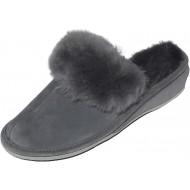 Hollert Leather Lammfell Hausschuhe MAROKKO Premium Damen Fellschuhe aus 100% Merino Schaffell Schuhe & Handtaschen