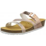 Lico Natural Glitter Pantoletten Damen Rose 39 EU Schuhe & Handtaschen