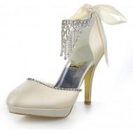 JIA JIA Wedding 3703 Hochzeitsschuhe Brautschuhe Damen Pumps Schuhe & Handtaschen