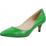 Wealsex Damen Pumps High Heels Lack Stilettos spitz Schuhe Elegante Brautschuhe Schuhe & Handtaschen