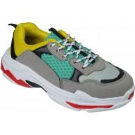 BeMeesh Damen Frauen Turnschuhe Schnürschuhe Sportschuhe Sneaker Schuhe & Handtaschen