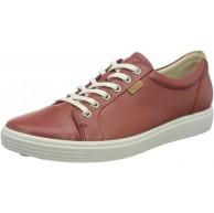 ECCO Damen Soft 7 W Marsala Droid Sneaker Sneaker Schuhe & Handtaschen