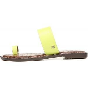 Sam Edelman Damen Gorgene Slide Sandalen Grn Limettencocktail 37.5 EU Schuhe & Handtaschen