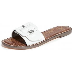 Sam Edelman Damen Granada Slide Sandalen Weiá Bright White 38.5 EU Schuhe & Handtaschen