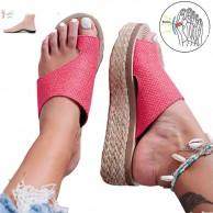 XXZ Bunion Splints Sommer Damen Sandalen Flach Big Toe Hallux Valgus Orthopädische Bequeme Flip Flops für die Behandlung Schuhe & Handtaschen