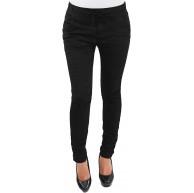 Damen RÖHRENHOSE HÜFT Stretch Slim FIT Chino Skinny Hose IN 2 Farben Bekleidung