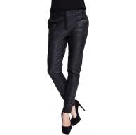Zhrill Damen Stoffhose Anzugshose Vintage Slim Fit Sophia Bekleidung