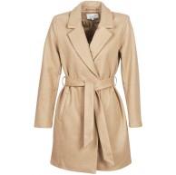 Vila NOS Damen VILUS Jacket-NOOS Mantel Beige Dusty Camel Dusty Camel Herstellergröße 40 Bekleidung